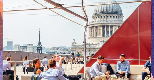 The best rooftop bars in London to soak up the sun this bank holiday weekend
