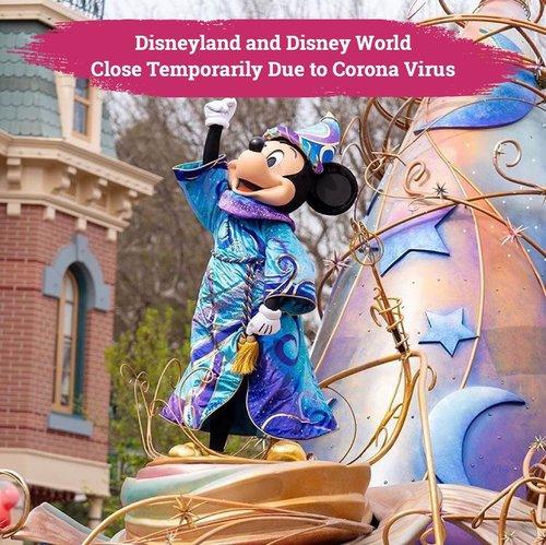 Pandemi virus corona banyak mempengaruhi hal-hal di sekitar kita. Salah satu cara untuk meminimalisirnya adalah dengan melakukan penutupan sementara ruang dan tempat publik yang memungkinkan terjadinya kerumunan orang. Hal tersebutlah yang dilakukan oleh Disneyland dan Disney World, bertujuan untuk mengurangi penyebaran virus corona, Walt Disney memutuskan untuk menutup sementara seluruh Disneyland dan Disney World di dunia sampai meredanya pandemi ini..Ini merupakan ketiga kalinya dalam sejarah Walt Disney menutup Disneyland untuk sementara, lho, Clozetters. Penutupan yang pertama terjadi tahun 1963 sebagai bentuk belasungkawa atas kematian Presiden John F. Kennedy, dan penutupan kedua terjadi tahun 2001 yang disebabkan oleh serangan teror 9/11 di United States..Semoga pandemi ini segera berakhir dan kita semua dapat beraktivitas seperti sediakala ya, Clozetters!❤️.📷 @disneyland#ClozetteID #disneyland