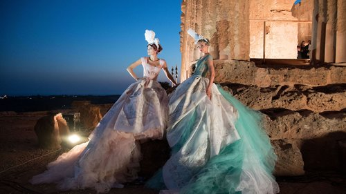 Dolce & Gabbana Stage an Epic Alta Moda Show in Sicily's Valley of the Temples