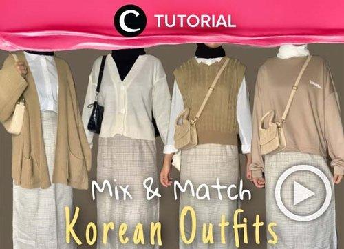 Ingin tampil ala Korea dan tetap hijab friendly? Coba cek inspirasinya di: https://bit.ly/3kPDRFi. Video ini di-share kembali oleh Clozetter @saniaalatas. Lihat juga tutorial lainnya di Tutorial Section.