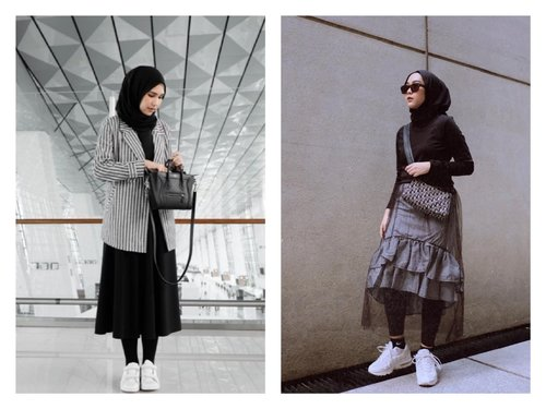 Mix and Match: Midi Skirt for Hijabers