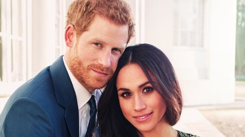 Meghan Markle Wears Ralph & Russo for Her Official Engagement Picture With Prince Harry