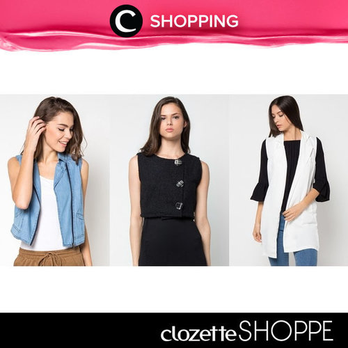 Try layering game on your daily outfit by wearing your favorite vest, Clozetters! Keep it simple and stylish with vest. Discover & shop new vest at #ClozetteSHOPEE! http://bit.ly/1X02hck