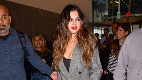Selena Gomez Refreshes the Suit With a Surprising Choice of Shoe