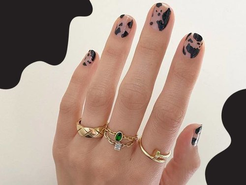 Cow Print Nail Polish Trends to Try