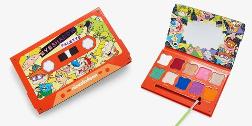 Nickelodeon Just Released a Cassette Tape Eyeshadow Palette and We're Freaking Out