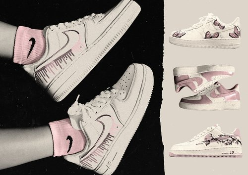 Nike Air Force 1s Are Behind TikTok