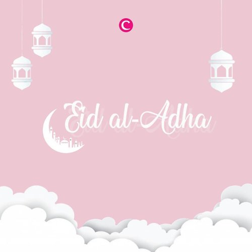 Wishing you and your family a very blissful Eid al-Adha✨#ClozetteID