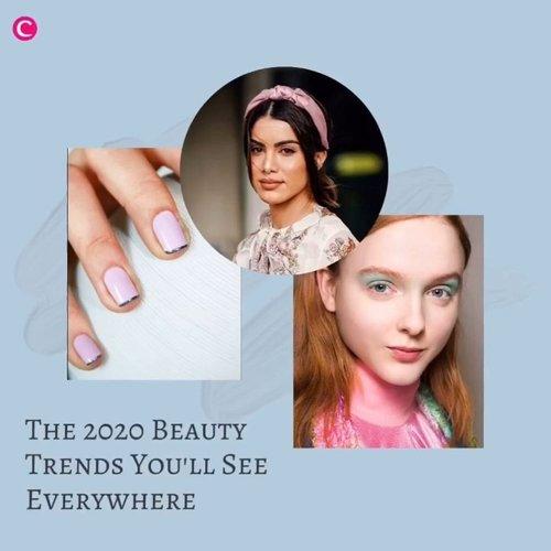 Awal tahun yang baru, sudah waktunya juga kenalan dengan trend baru yang akan popular di tahun 2020 ini, salah satunya adalah beauty trend. Penasaran apa saja itu? Yuk simak videonya berikut ini #ClozetteID #ClozetteIDVideo