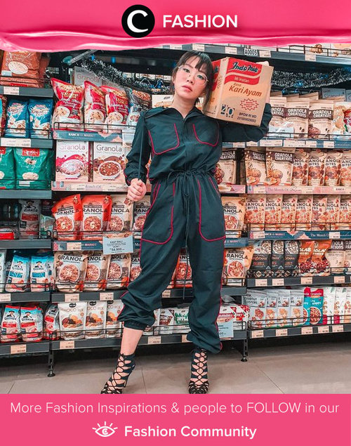 Dress-up for grocery shopping? Why not? Image shared by Clozette Ambassador @bebelicious.  Simak Fashion Update ala clozetters lainnya hari ini di Fashion Community. Yuk, share outfit favorit kamu bersama Clozette.