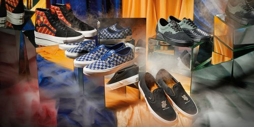 Attn: Witches, Harry Potter x Vans Just Shared the First Pics of Their Hogwarts-Themed Shoes