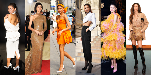 40 Fashionable Photos That Prove Zendaya Is a Red Carpet Queen
