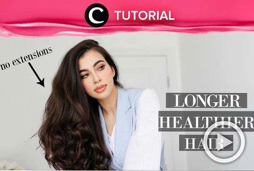 Who's ready for longer, healthier hair? Check the tutorial here: http://bit.ly/355XGye. Video ini di-share kembali oleh Clozetter @aquagurl. Lihat juga tutorial lainnya di Tutorial Section.