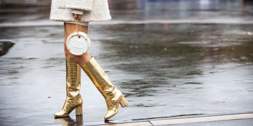 It's Official: Knee-High Boots Have Surpassed Over-the-Knee Boots in Coolness