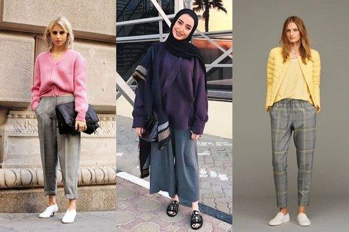 7 Warna Baju yang Cocok Dipadukan dengan Celana Abu-Abu Agar Tak Kusam