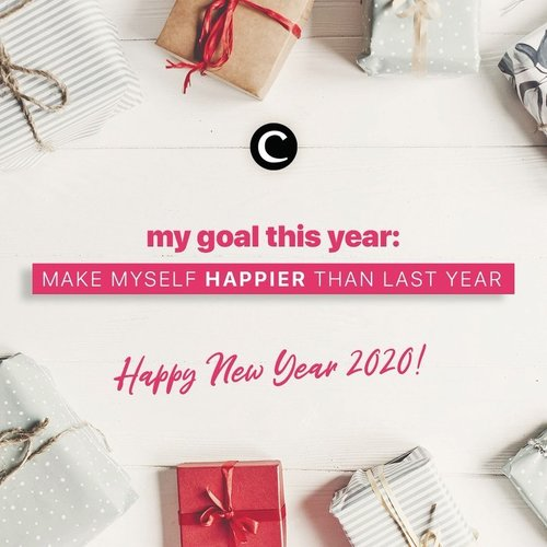 Welcome 2020! May the spirit of new year bring the best of us❤️ . Our resolution this year: make my self happier than last year. What about you, Clozetters? What's your most exciting goal this year?✨ #ClozetteID