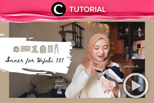 Must-have inners for hijabi: http://bit.ly/3s8aks4. Video ini di-share kembali oleh Clozetter @shafirasyahnaz. Intip juga tutorial lainnya di Tutorial Section.
