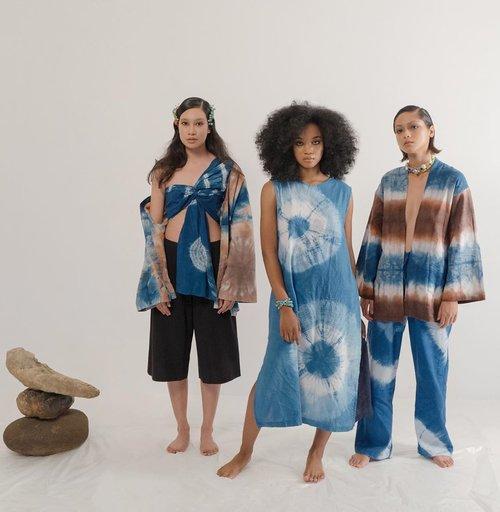 Tampil Stylish Dengan Koleksi Busana Bercorak Tie Dye Karya Brand Lokal
