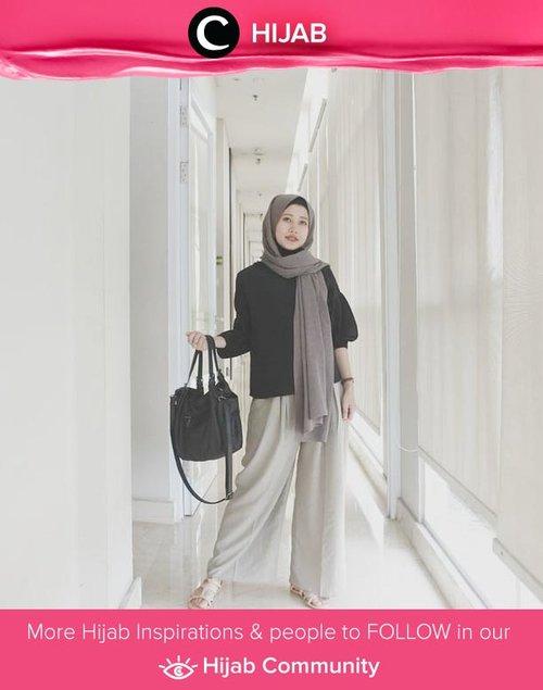 Menurut Clozetter @annisapertiwi, celana kulot kerap menjadi fashion statement bagi para Ibu. Setuju, nggak, Clozetters? Simak inspirasi gaya Hijab dari para Clozetters hari ini di Hijab Community. Yuk, share juga gaya hijab andalan kamu.