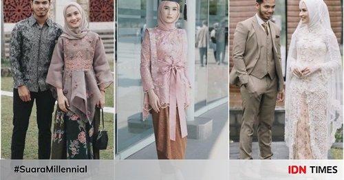 10 Gaya Kebaya Hijab ala Influencer Dwi Handa, Ada yang Buat Wisuda!