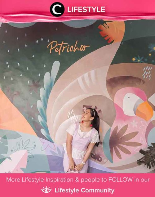 Who doesn't love Instagrammable wall? Image shared by Clozetter @katherin at Petrichor Cafe. Simak Lifestyle Updates ala clozetters lainnya hari ini di Lifestyle Community. Yuk, share juga momen favoritmu.