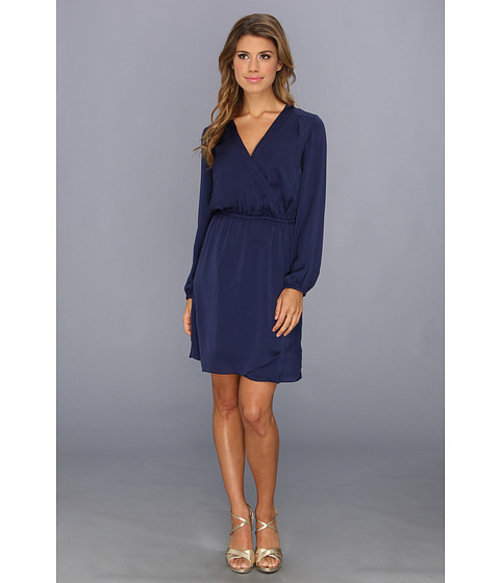 Lilly Pulitzer Whitaker Wrap Dress True Navy - Zappos.com Free Shipping BOTH Ways