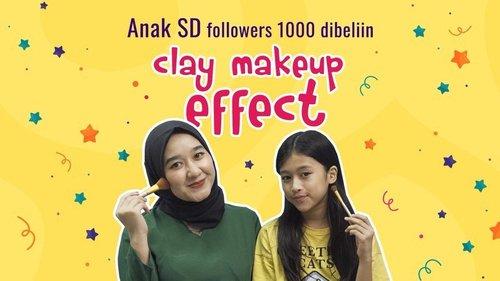 Baru 11 tahun, sudah jago bikin special effect makeup! . Kalau anak SD dikasih petroleum jelly & tepung, biasanya bikin squishy, tapi beda dengan @jihanshaquilla yang bikin scar wax untuk kreasi special effect makeup! Mau tau cara bikin scar wax mudah dan murah ala Jihan? Langsung mampir ke link ini yuk http://bit.ly/DIYScarWax (link hidup di bio) . #CIDYoutube #ClozetteID #SpecialEffectMakeup #DIYScarWax #MakeupHacks #Makeup #DIYMakeup