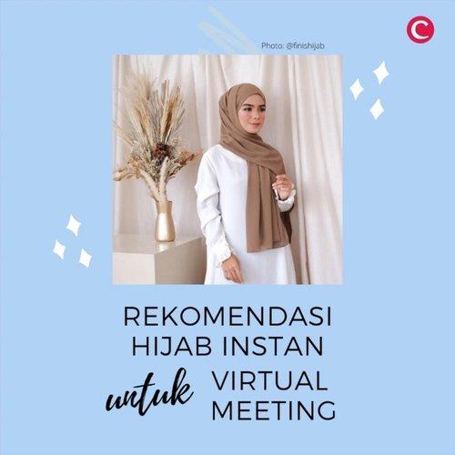 Gimana kondisi PSBB dan work from home hari kedua, Clozetters? Siapa yang to-do list nya sudah mulai dipenuhi dengan jadwal virtual meeting? Jadwal meeting yang nggak selalu berurutan, terkadang membuat para pemakai hijab merasa kesulitan karena harus lepas pasang ciput dan hijab sebelum dan sesudah meeting..Apabila kamu sering merasakan hal tersebut, kamu bisa coba 5 hijab instan berikut! Saat memakai hijab instan ini kamu enggak perlu lagi menggunakan peniti atau ciput. Jadi, lebih praktis dan pastinya tetap terlihat cantik untuk virtual meeting!.📷 @esca_scarf @dnrscarves @finishijab @lbylcb @inforiamiranda#ClozetteID #ClozetteIDVideo #instanthijab #hijabinstan #instanhijab #riamiranda #lbylcb