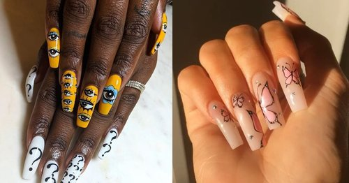 These Are the Best and Most Over-the-Top Nail Art Looks of 2019 So Far