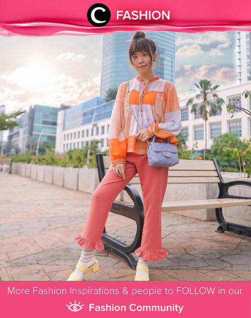 Whether you're going out or staying in, Saturday Night has to be spent with vibrant coloured outfit. Image shared by Clozette Ambassador @steviiewong.  Simak Fashion Update ala clozetters lainnya hari ini di Fashion Community. Yuk, share outfit favorit kamu bersama Clozette.