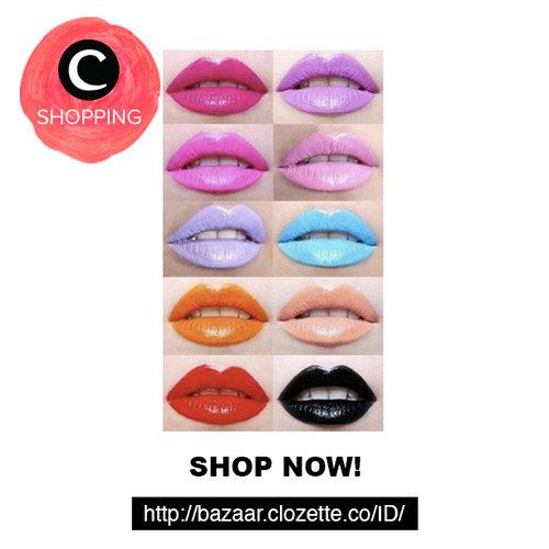 Apa warna lipstik favoritmu? Classic red / pink / nude / peach ? Di http://bit.ly/bzrlipscrew kamu bisa belanja berbagai warna lipstik favoritmu dari berbagai merek! #ClozetteBazaar