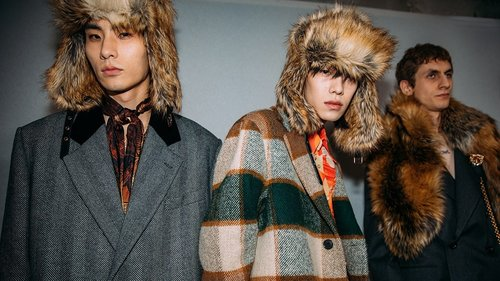 The Best Backstage Photos From the Fall 2020 Menswear Shows in Paris