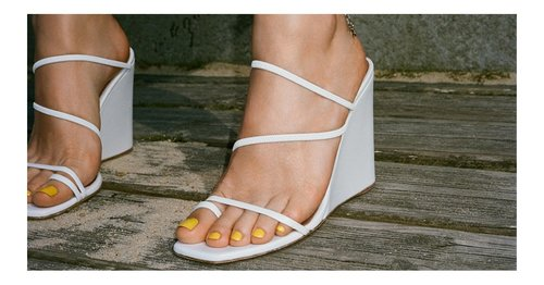 Y2K Wedges Are Back, Just When Your Feet Needed Them Most