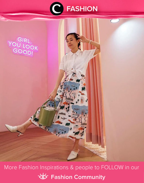 No more Monday blues when you have the chicest outfit to start the week like Clozette Ambassador @steviiewong.  Simak Fashion Update ala clozetters lainnya hari ini di Fashion Community. Yuk, share outfit favorit kamu bersama Clozette.