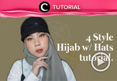 Selalu ada cara untuk tetap tampil stylish dengan hijab. Salah satunya adalah mengenakannya bersama topi kesayanganmu. Simak tutorial selengkapnya di : https://bit.ly/3hZoYN5. Video ini di-share kembali oleh Clozetter @saniaalatas. Lihat juga tutorial lainnya yang ada di Tutorial Section.
