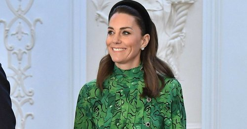 Kate Middleton wore the most beautiful green peplum dress (and now we want a green peplum dress)