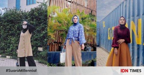 10 Ide Style Hijab ala Anisa Rahman, Kekinian dan Gampang Disontek