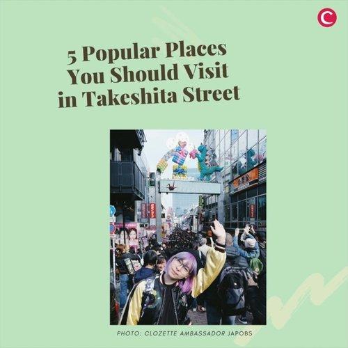 Dikenal sebagai salah satu tempat favorit turis maupun warga lokal Jepang, Takeshita Street memang punya banyak toko-toko menarik untuk dikunjungi. Mulai dari belanja oleh-oleh, coba dessert paling populer, hingga foto purikura, bisa kamu lakukan di tempat ini. Supaya nggak bingung toko mana yang harus kamu datangi, cek dulu 5 rekomendasi berikut ini, yuk!.📷 @jabops, www.eatandtravelwithus.com, masaaki 250 via Google, www.projectvanity.com, @eggnam_harajyuku, www.timeout.com#ClozetteID #clozettexcooljapan #clozetteidcooljapan #takeshitastreet #harajuku #japan #tokyo