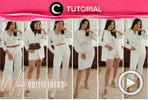 Bosan tampil all-black? Saatnya ganti outfit-mu jadi all-white: https://bit.ly/3u0opb3. Video ini di-share kembali oleh Clozetter @salsawibowo. Intip juga tutorial lainnya di Tutorial Section.