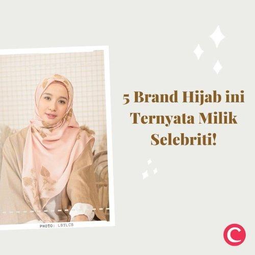 Hijab fashion kini makin berkembang, ditandai dengan makin maraknya brand-brand hijab yang hadir dalam dunia busana muslim ini.  Para selebriti pun tak mau ketinggalan momen ini dan menciptakan brand hijabnya sendiri. Penasaran brand apa saja dan didirikan oleh siapa? Yuk, intip melalui video berikut ini!✨ #ClozetteID #ClozetteIDVideo.📷 @kiabyzaskiasungkar @doa.indonesia @trinycta @alurcerita @lbylcb
