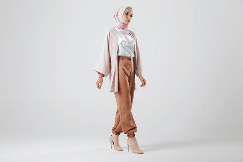 Padu Padan Celana Jogger Muslim