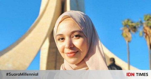 9 Pesona Ihssane Benalluch, Vlogger Hijab Asal Maroko yang Inspiratif