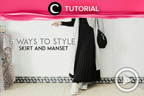 Style your skirt and manset like a pro! Check the tutorial here: https://bit.ly/391Lbbj. Video ini di-share kembali oleh Clozetter @shafirasyahnaz. Lihat juga tutorial lainnya di Tutorial Section.