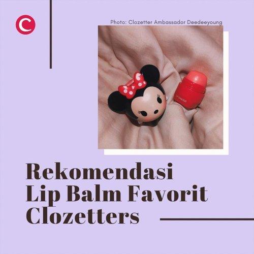 Salah satu problematika kita bersama saat puasa: bibir jadi lebih rentan kering! Tenang, Clozette sudah rangkum rekomendasi 8 lip balm dari high end dan drugstore brand favorit Clozetter @steviiewong @saycintya @fransiska_wenda @claudiaayoung_ @kpmputri @mykittybeauty dan @phieselphie. Bye bye chapped lips! 👄✨.#ClozetteID #ClozetteIDVideo #ClozetteIDCoolJapan #ClozettexCoolJapan