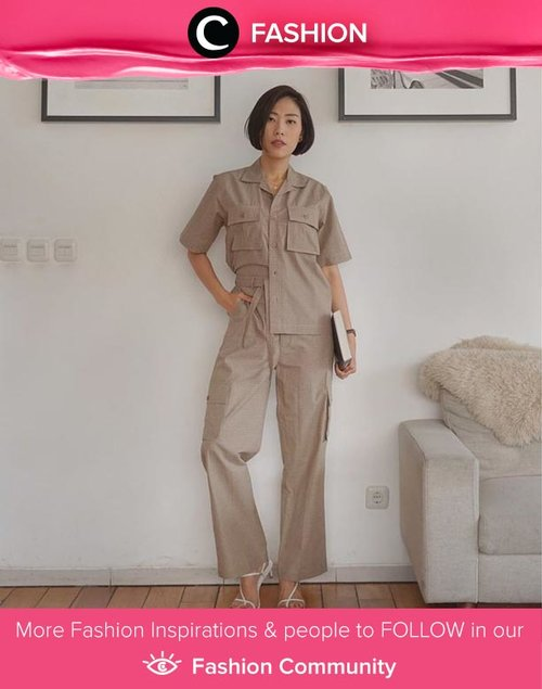 Safari vibes so strong in Clozette Ambassador @janejaneveroo outfit. Simak Fashion Update ala clozetters lainnya hari ini di Fashion Community. Yuk, share outfit favorit kamu bersama Clozette.