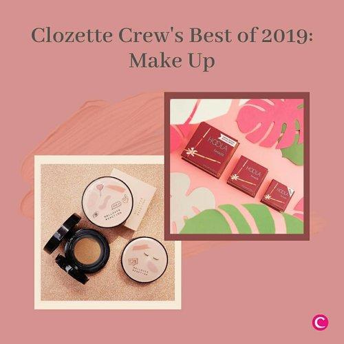 Pada penghujung tahun ini, Clozette akan merangkum beberapa beauty products terbaik ala Clozette Crew sepanjang tahun 2019. Dimulai dari hal yang paling Clozette sukai, apalagi kalau bukan: Make Up!✨.Penasaran apa saja produk make up favorite Clozette Crew selama tahun 2019? Swipe left untuk cari tahu! Kalau kamu, apa sih make up terbaik tahun ini? Tulis di kolom komentar ya, Clozetters! #ClozetteID.📷@benefitindonesia @esteelauderid @moonshot_idn @urbandecaycosmetics @rollover.reaction @makeoverid