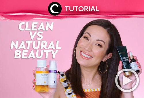 Clean beauty vs natural beauty, mana yang lebih cocok untukmu? Cek di: http://bit.ly/3n6r670. Video ini di-share kembali oleh Clozetter @kyriaa. Intip juga tutorial lainnya di Tutorial Section.