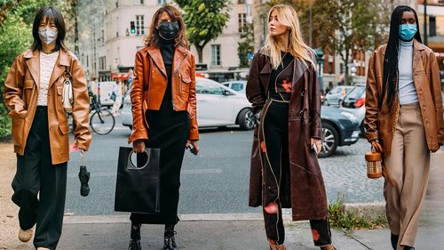This Fall, Try a Brown Leather Jacket Instead of a Classic Black One