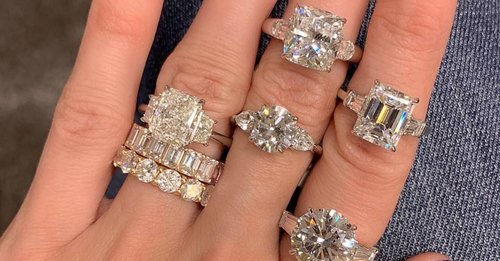 These are the 3 most popular engagement ring styles right now