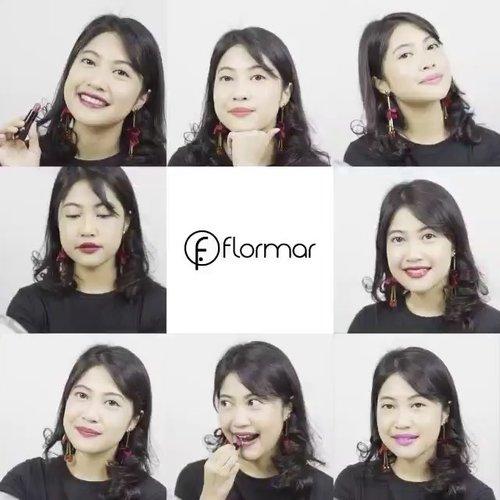 Say hi to Flormar Super Shine Lipstick!Tersedia dalam 8 pilihan warna cantik dari bold hingga natural, lipstick ini memiliki warna yang intense dalam sekali pulas. Selain warnanya yang berkilau, bibirmu akan tetap terjaga kelembabannya @flormarindonesia #ClozetteID #ClozetteIDVideo